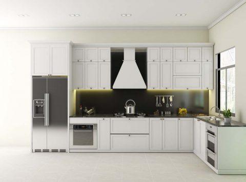 Hình ảnh tủ bếp nhà cô Hương – Biệt thự Harmony Vinhome Riverside