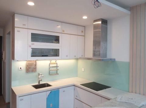 Hình ảnh tủ bếp nhà anh Quân – Trần Duy Hưng