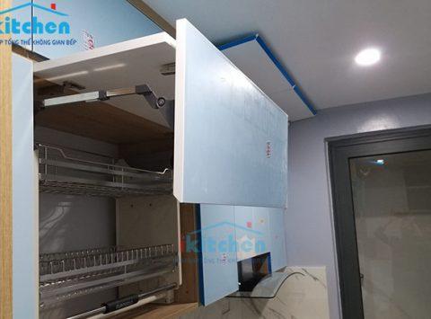 Trọn gói phụ kiện tủ bếp tại Long Biên - Bếp iKitchen