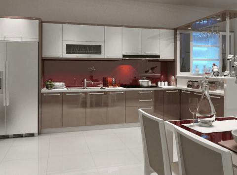 [BÁO GIÁ] 15+ mẫu tủ bếp inox giá rẻ phong cách hiện đại