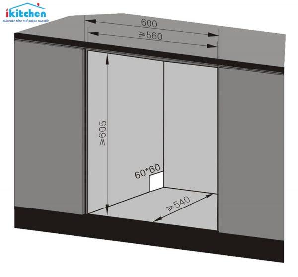 Máy Rửa Chén Bát Texgio 8 Bộ TG-BI205